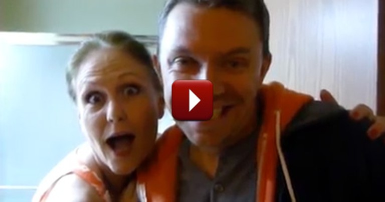 Sneaky Couple Tricks Their Family and Friends with an Awesome Pregnancy Reveal