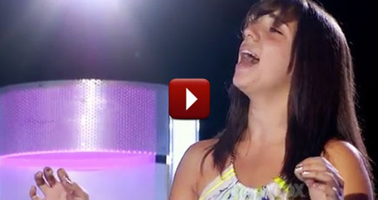 Her Late Grandfather Never Got a Chance to Hear Her Sing - Now she is Singing for Him