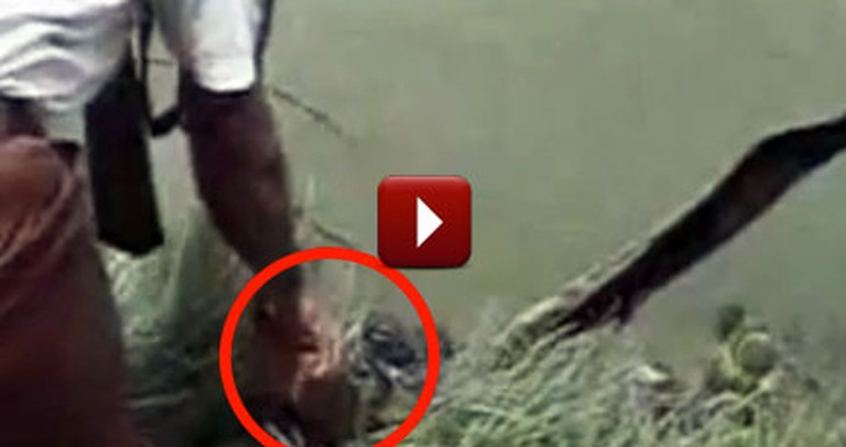 Baby Floating in Bag in a River is Miraculously Found Alive