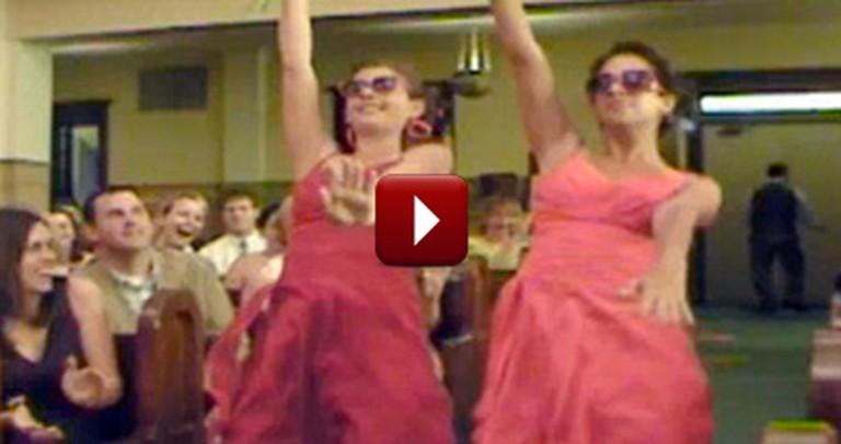 The Greatest Wedding Entrance of All Time