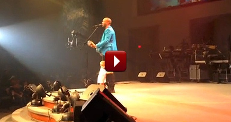 Sweet Baby Steals the Show at Daddy's Concert
