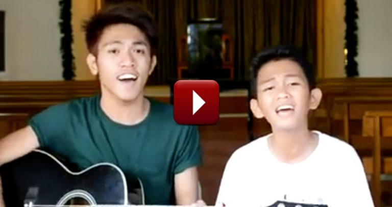 These Christian Cousins Sound Just Like Angels - Listen to Their Cover
