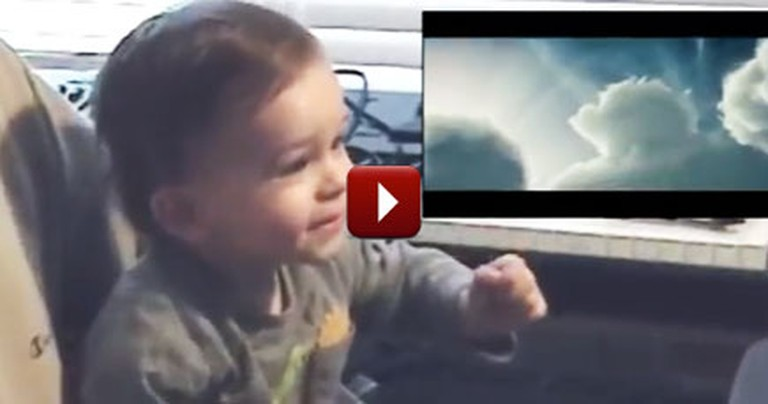 You'll Love This Baby's Reaction to a Superman Movie. He's the Cutest