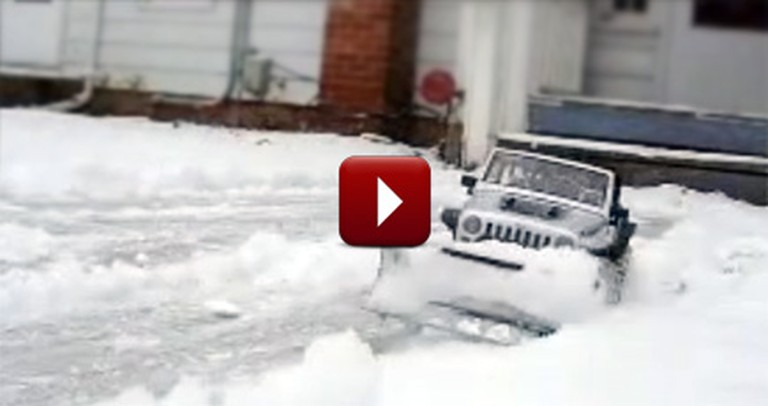 If You Hate Winter Chores, Then Use This Hilarious Solution