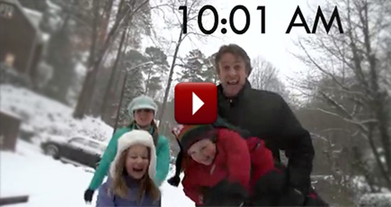 This is How Parents REALLY Feel on Snow Days - a Hilarious Music Video by a Cute Family
