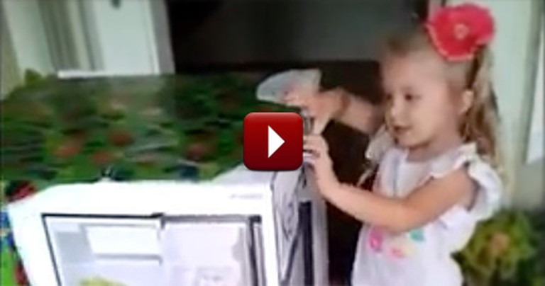 A Little Girl's Big Birthday Surprise Caused Her to Have a Happy Meltdown