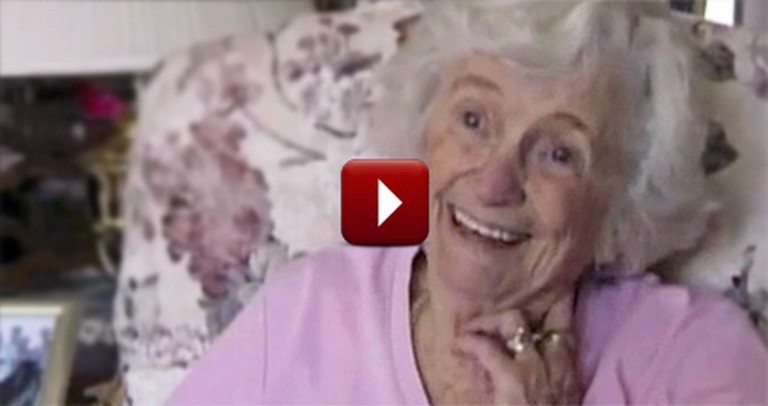 Elderly Woman Waves at Students Every Day. Then She Got a HUGE Surprise.