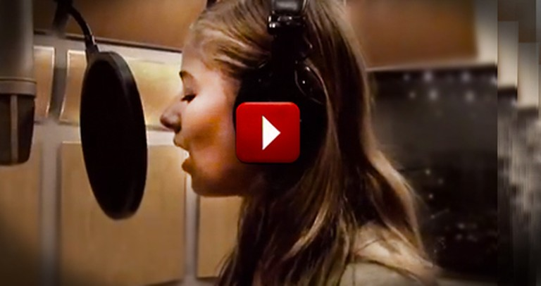 Head Inside the Recording Studio with Jackie Evancho for this Awesome Classic!