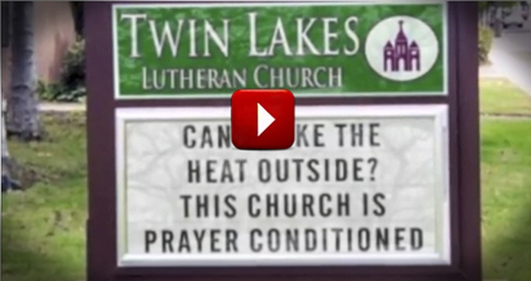 Funny Pop Culture Parody of Popular Song Makes Light of Funny Church Signs