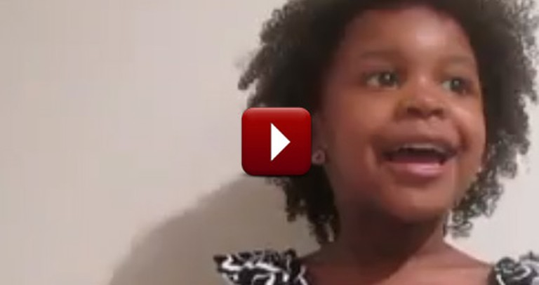 Adorable 3-Year-Old Will Melt Your Heart Reciting the Bible -- Soooo cute!