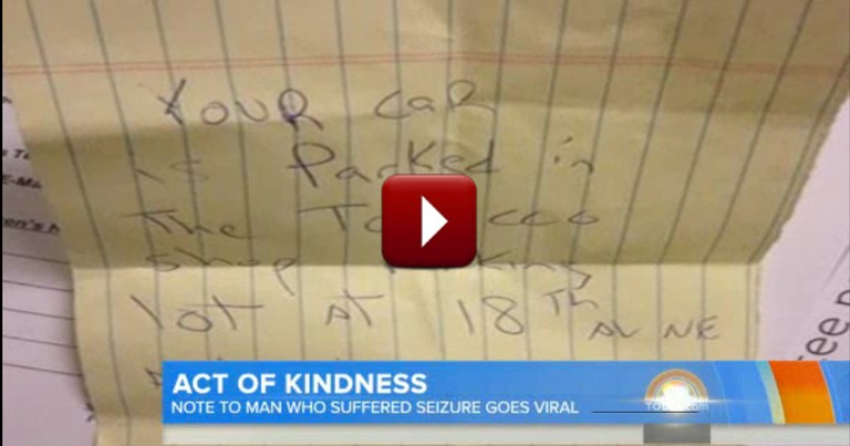 What This Bashful Good Samaritan Did Will Move You