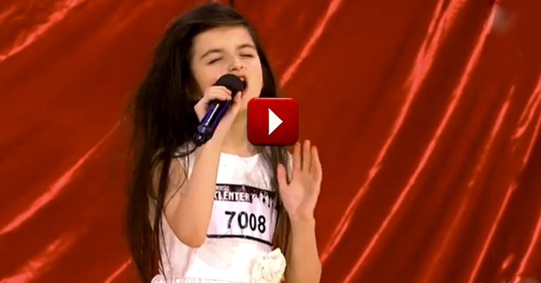 7-Year-Old Blows Judges Away with a Classic