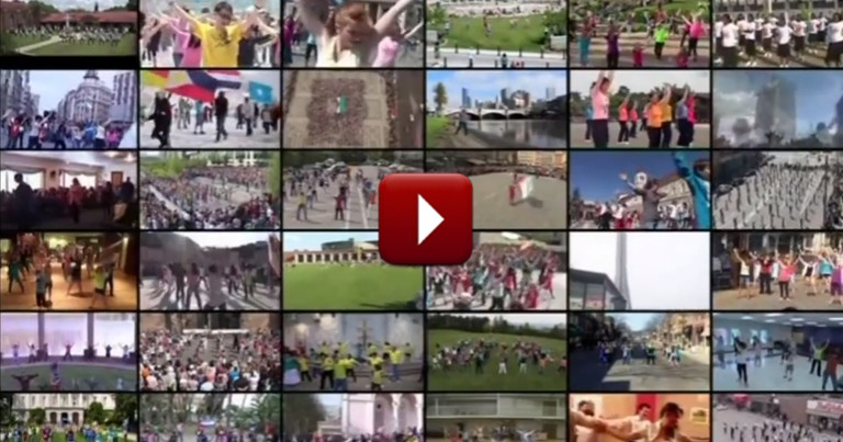 World Wide Flash Mob of Christians is a Must-see!