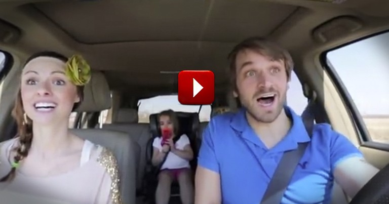 Parents Adorably Sing a Children's Song