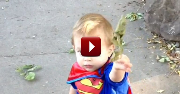 All Toddlers are Pretty Special, But Watch and See Why this Boy is SUPER!