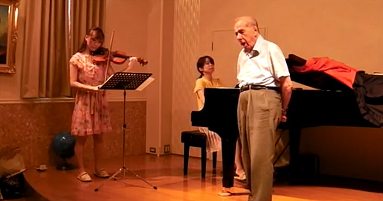 92-Year-Old Gives an Opera Performance You'll NEVER Expect - a Must See!