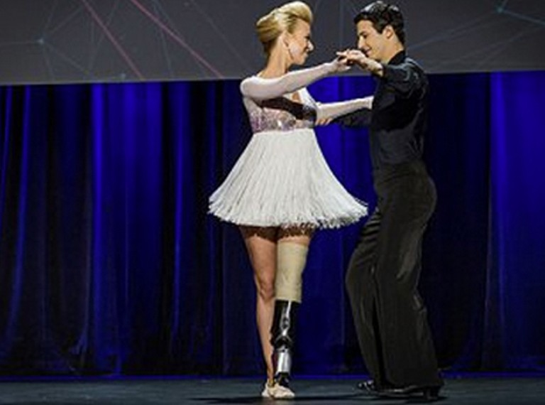 Marathon Bombing Victim Vowed to Dance Again - And DID!