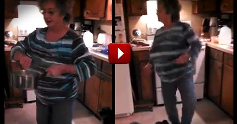 This Granny Has the Best Recipe for Fun . . .When She Kicked Her Shoes Off, I Lost It!