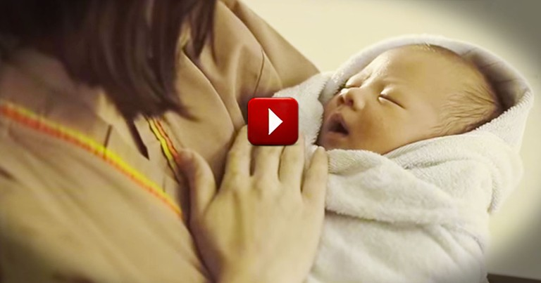 The Secret Of This Baby's Arrival Is Heartbreaking. Prepare to Dehydrate from the Tears!