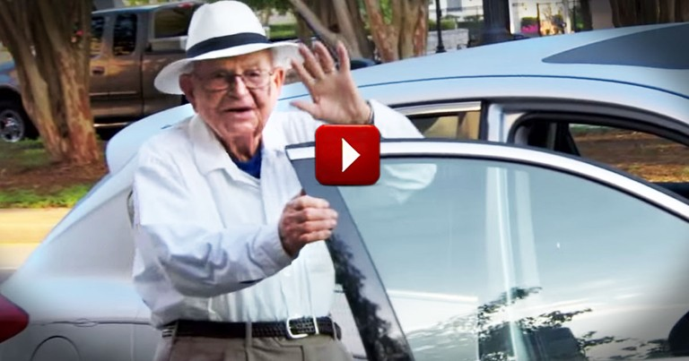 I Just Fell In Love With This 98-Year-Old. Even If He Does Hate The Beatles!