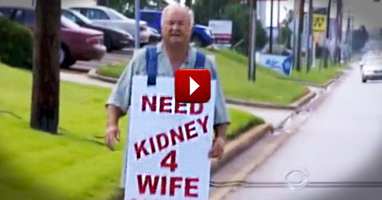 Husband of 57 Years Stops at Nothing to Save His Wife's Life