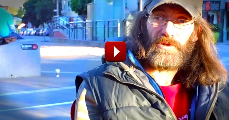 They Gave One Homeless Man A Camera. What He Filmed Will Break Your Heart.  So Many Tears!
