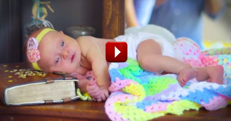 They Prayed And Prayed For A Child. Then The Lord Sent Them This Little Ray Of Sun!