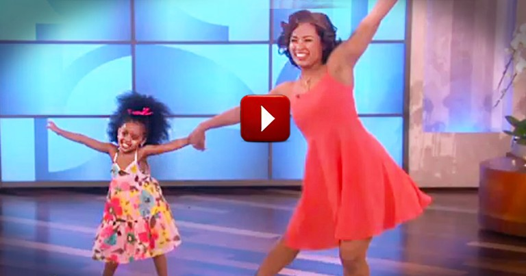 This Mother-Daughter Dance is Just Heavenly!  The Real Fun Starts At 3:45.