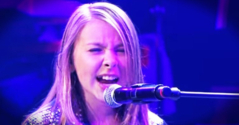 When This Girl Sings, Our World Gets a Little More Wonderful. This took My Breath Away!
