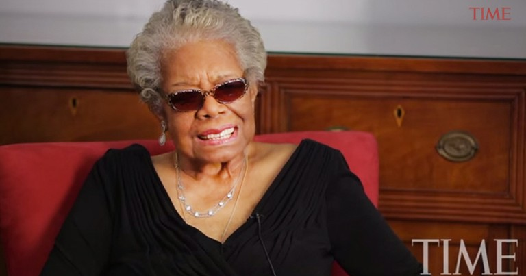 Maya Angelou Shares What She Hoped To Be Doing When The Lord Called Her Home.  May You Rest In Peace
