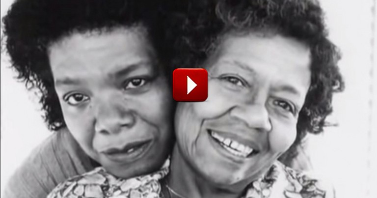 What Maya Angelou Shares at 5:00 About Love--Whoa!  This Is So Beautiful, It Made Me Cry.