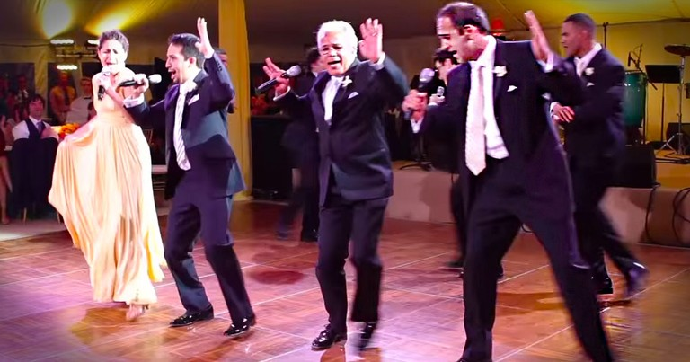 An Entire Family Shocks the Bride With THIS Amazing Broadway Performance