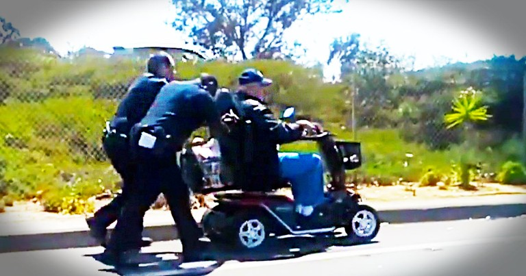 What Officers Did For This Veteran Is Amazing. Wait 'Til You Hear The Rest of The Story!