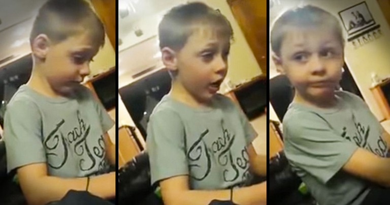 This Sweet Boy's Got Girl Problems...What He Says At The End Made Me LOL So Hard!