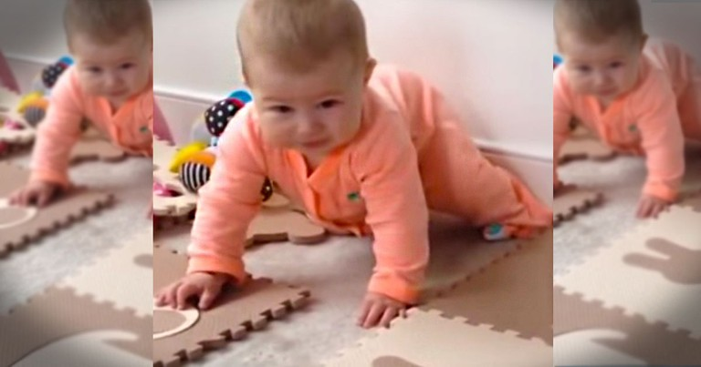 This Baby is Simply Adorable.  And What Happens NEXT Completely Made My Day!  Wait For It.