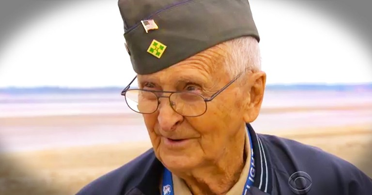 He Was Scared To Death The First Time. But This 88-Year-Old Just Took Normandy By Storm AGAIN!