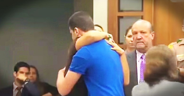 When I Saw Who This Mother Hugged, I Was Shocked. This Act of Forgiveness Took My Breath Away.