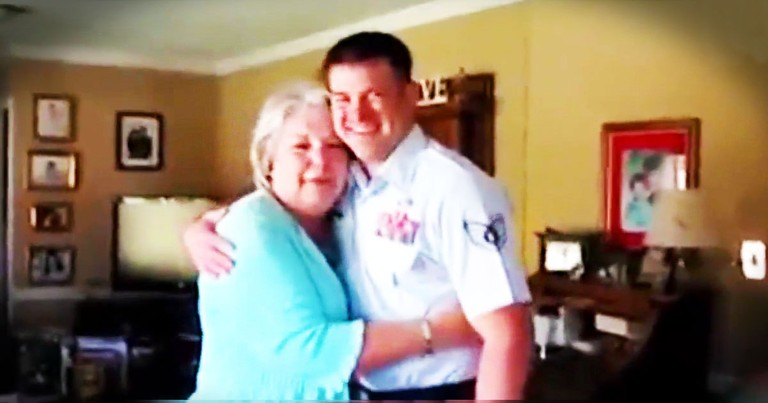 Usually Military Reunions Have Me Reaching For Tissues. But This Southern Momma Made Me LOL At 1:45!