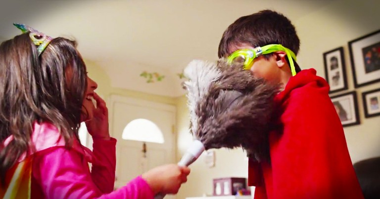 Could This 1 Wild Idea Make Kids Want To Clean? This is GENIUS, No, Wait--Super Genius!  LOL