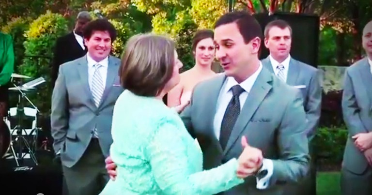 Groom's Dance With Mom Gave Me The Biggest Smile!