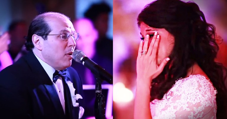 This Father of the Bride Had The Best Surprise For His Daughter. He Brought EVERYONE To Tears!