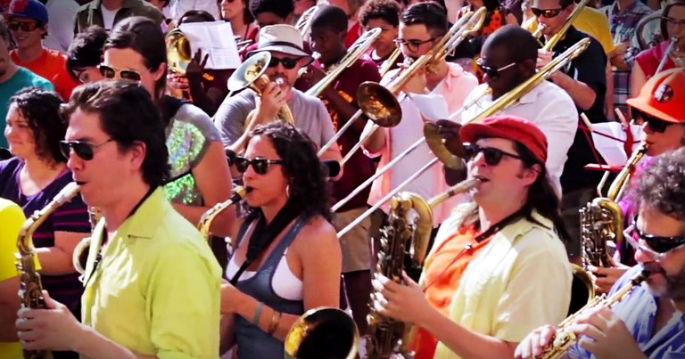 These 350 Musicians Had Never Met Before Now, But You'd Never Know It! This, THIS is Incredible!