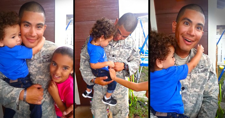 This Soldier Was So Thrilled To Be Home, He Completely Missed The Surprise! Just Wait For It!