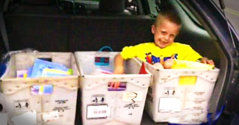 What This 5-year-old Wants For His Last Birthday Will Have You Reaching For Tissues, And Stamps!