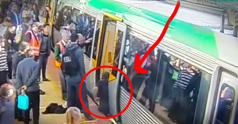 You'll Be Shocked When You See HOW 100s Of Strangers Rescue This Dangerously Trapped Man. WOW!
