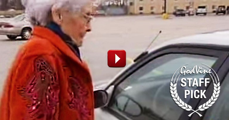 92 Year Old Woman Stops an Attacker by Using God's Word