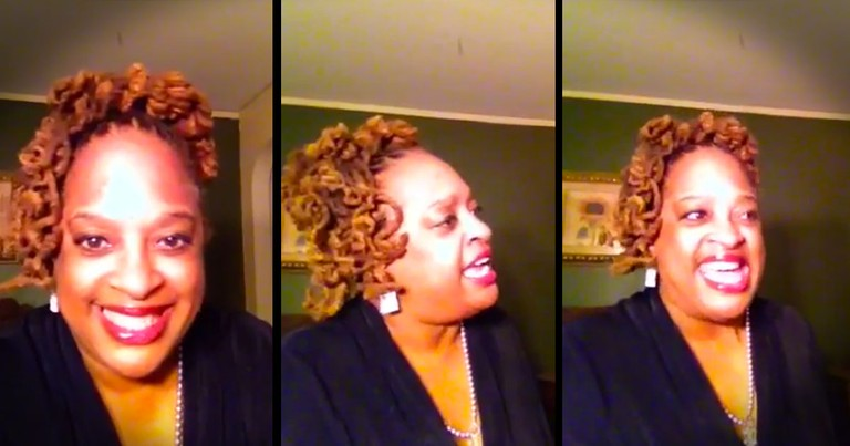 When You Hear This Woman's Song You'll Be Touched. And Just Wait 'Til You Hear The Lyrics!