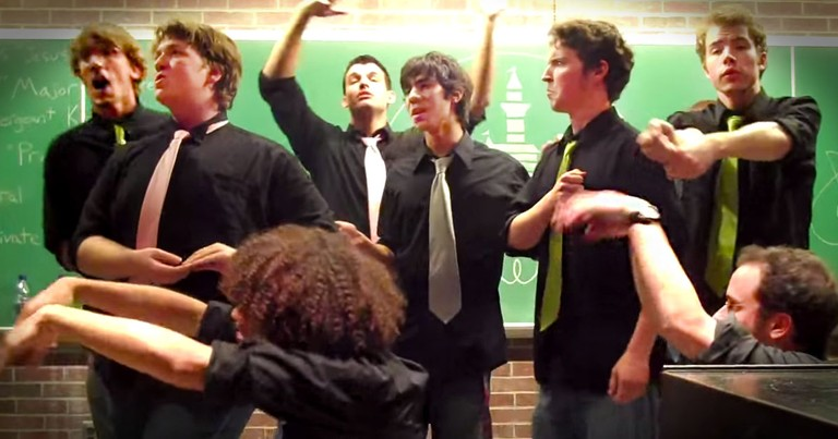 19 Seconds In, These Men Did Something That'll Make Your Day! This Is Pure A Cappella Disney FUN!