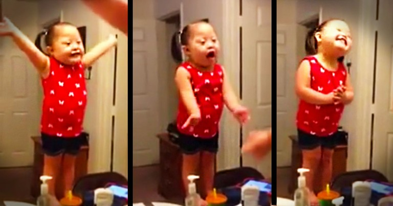 This Is One Performance You Don't Want To Miss! The Audience Is Just As Cute As The Singer!  ;)