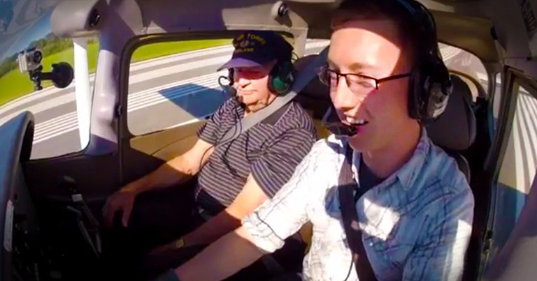 This Man Just Took His 92-Year-Old Grandpa To New HEIGHTS! And I'm Getting All Misty-Eyed!